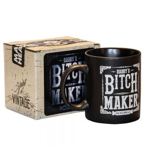 Jack's Inn 54 Bitch Maker Keramiktasse schwarz matt